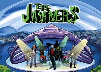 Portadas de cómics «The Jammers»
